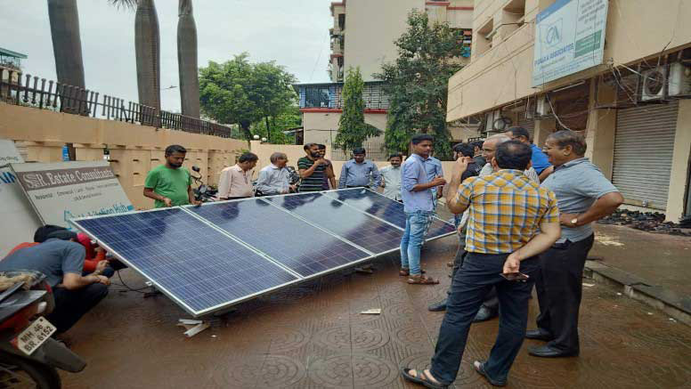 Solar Batches Completed